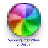 Spinning pizza of death